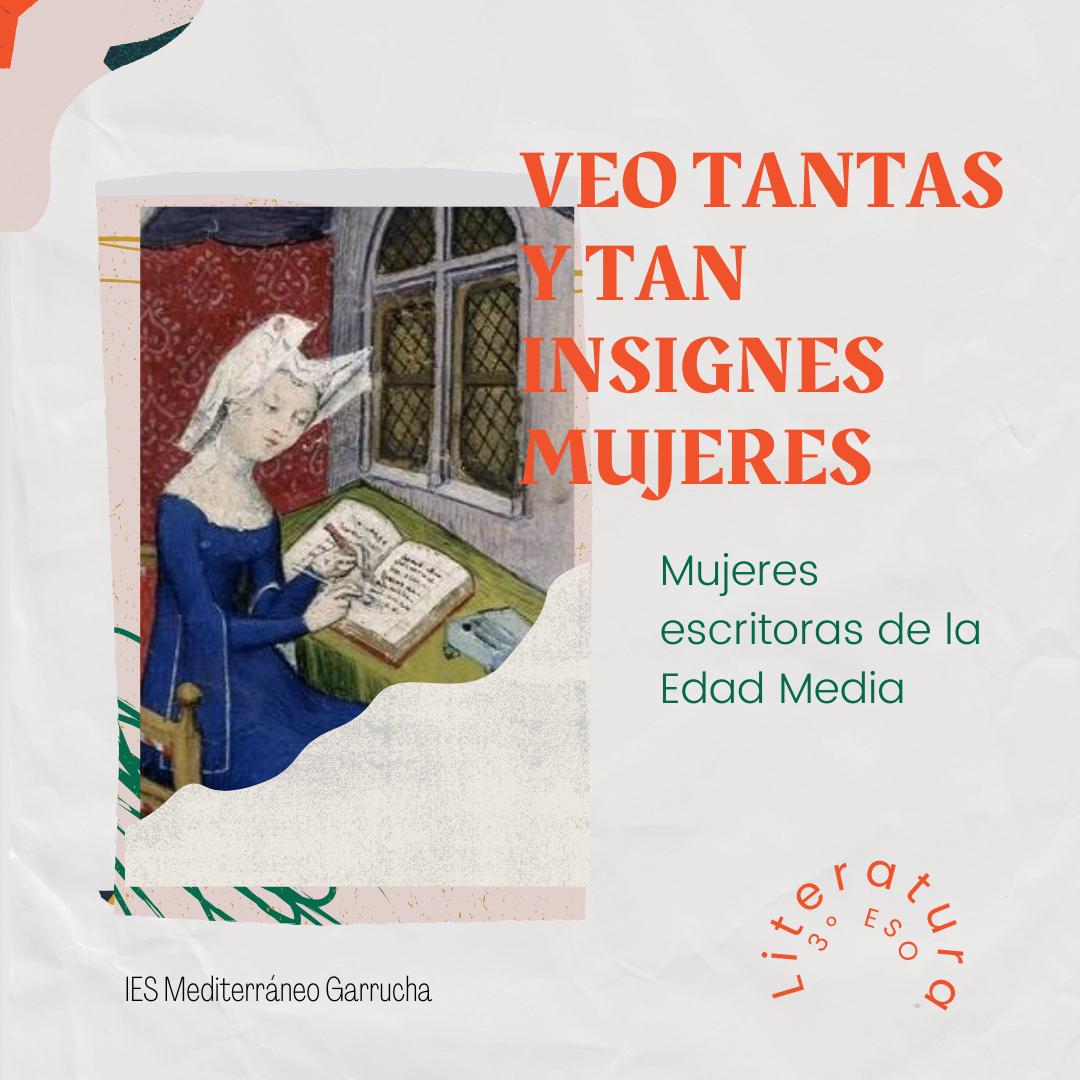 ESCRITORAS DE LA EDAD MEDIA