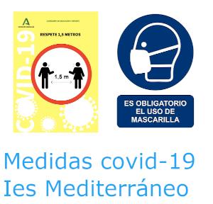 Medidas Covid Ies Mediterráneo Garrucha